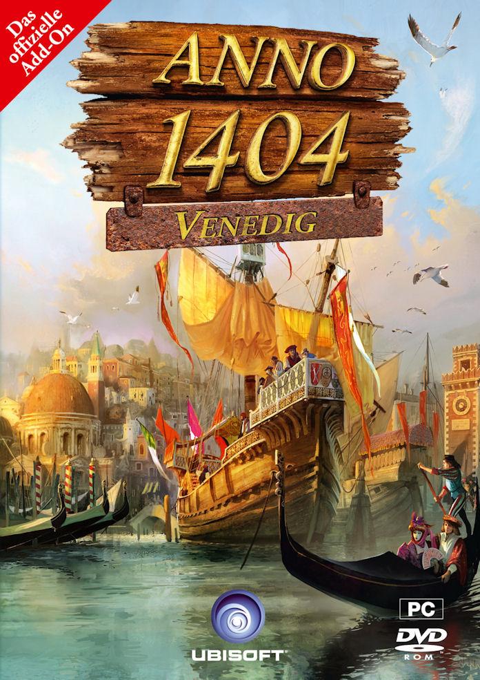 Anno 1404: Venedig, Cover